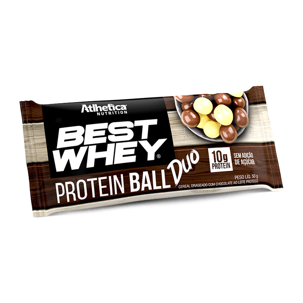 Best Whey Protein Ball Atlhetica Ball Duo  - KFit Nutrition