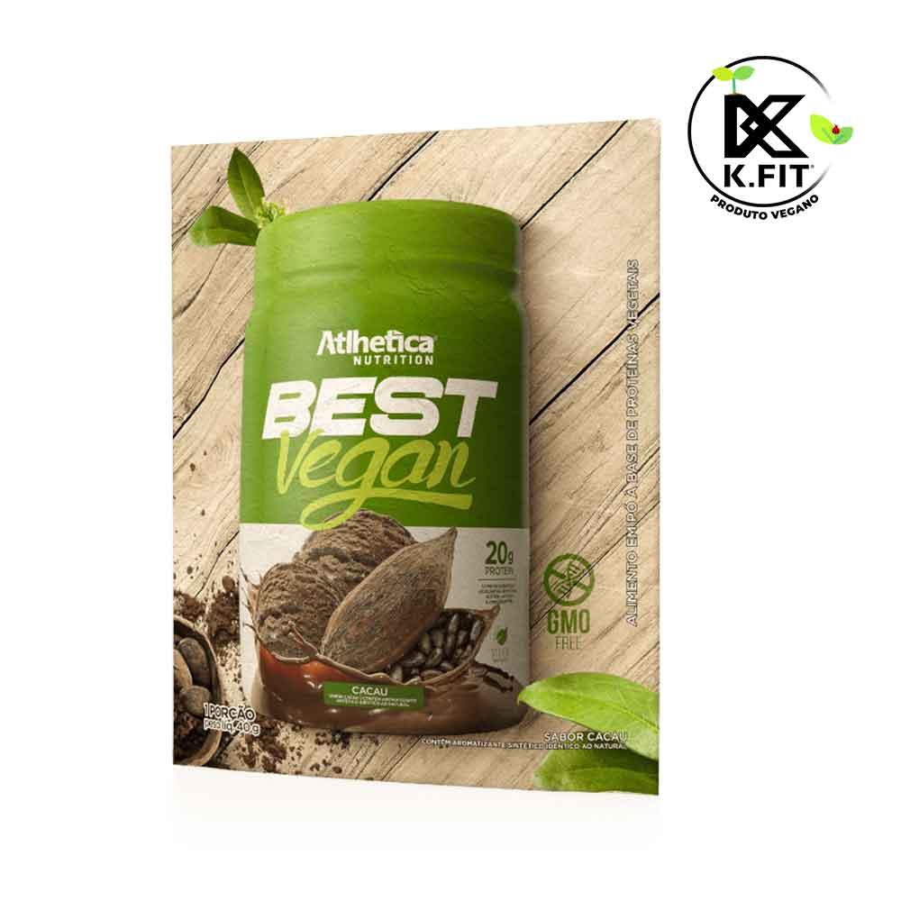 Best Whey Vegan Cacau Sachê 40g  - KFit Nutrition