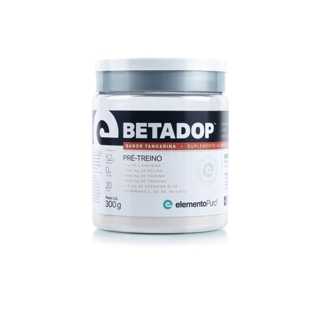 Betadop Tangerina 300g - ElementoPuro  - KFit Nutrition