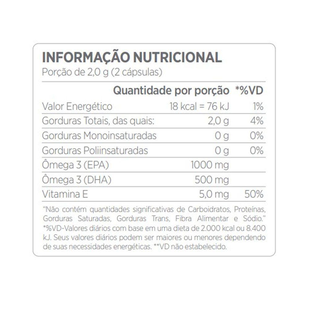 Biomega 50/25 Omega3 Tg 60caps Atlhetica  - KFit Nutrition