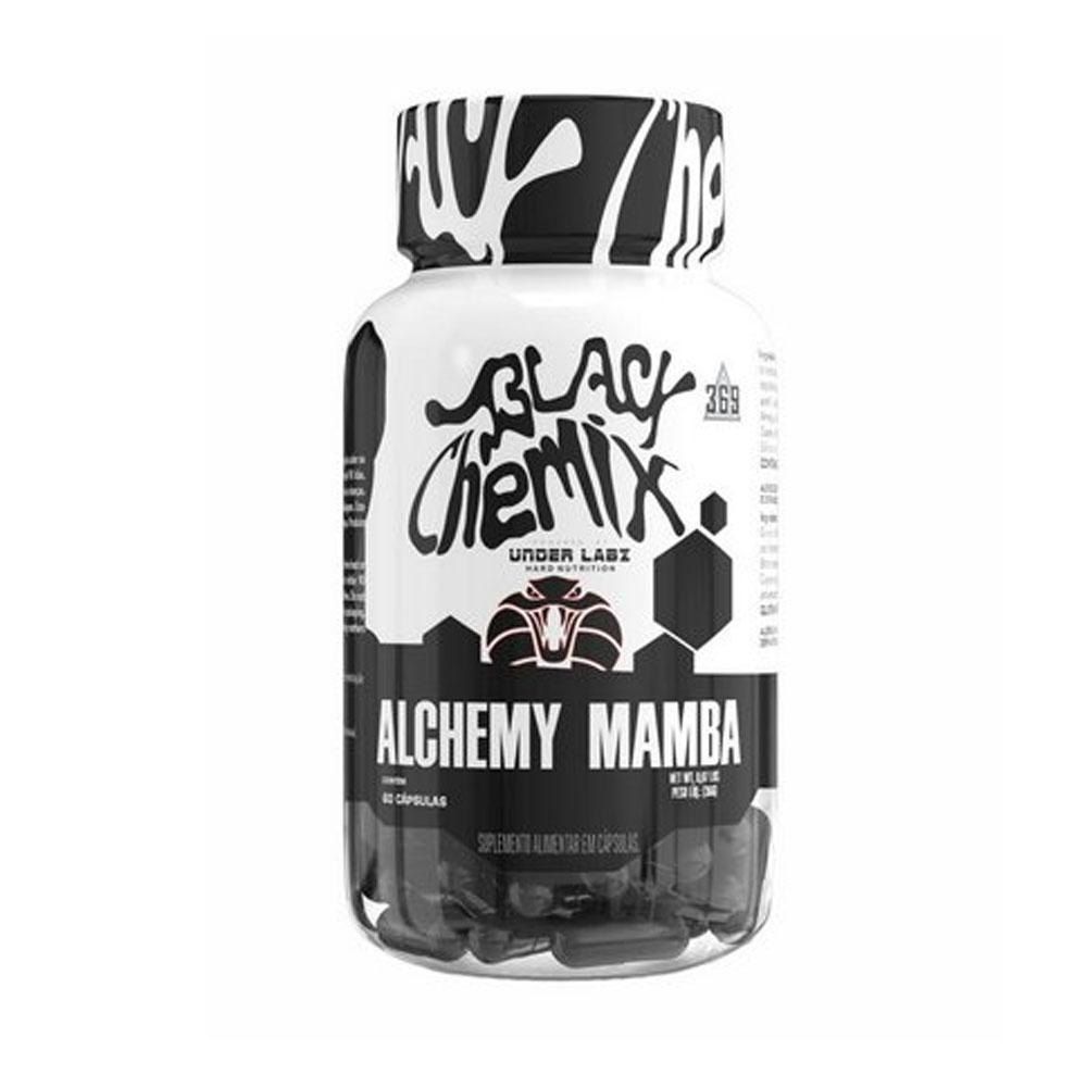 Black Chemix Alchemy Mamba 60 Caps - Termogênico Under labz  - KFit Nutrition