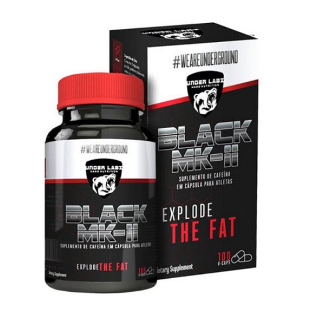Black Mk-ii Explode 100 Caps - Termogênico Under Labz  - KFit Nutrition