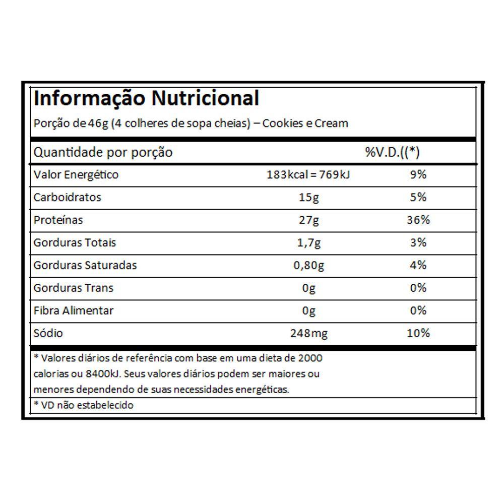Blend Proteico Atlhetica Protein Premium - Cookies - 1,8Kg  - KFit Nutrition