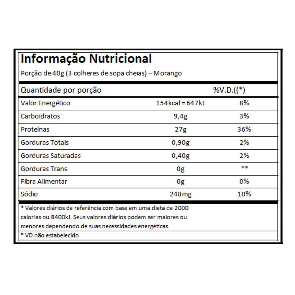 Blend Proteico Atlhetica Protein Premium - Morango - 1,8Kg  - KFit Nutrition