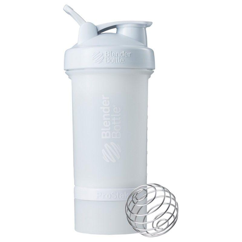 Blender Bottle ProStak FullColor Branca  - KFit Nutrition