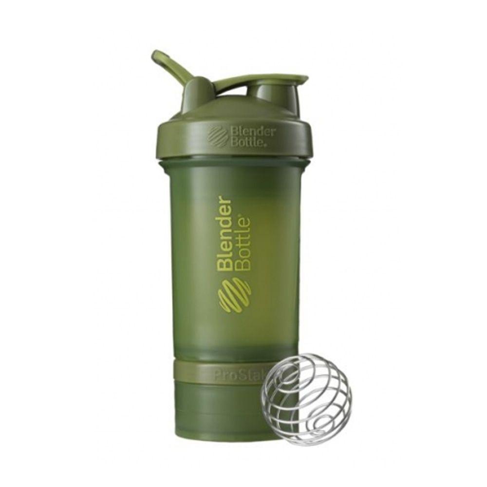 Blender Bottle ProStak FullColor  Verde Militar  - KFit Nutrition