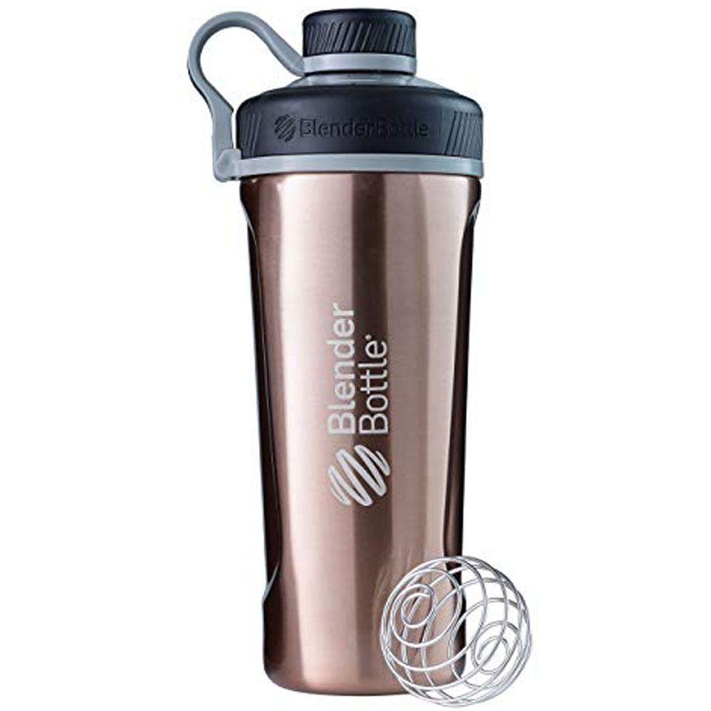 Blender Bottle Radian Insulate Bronze Cromado  - KFit Nutrition