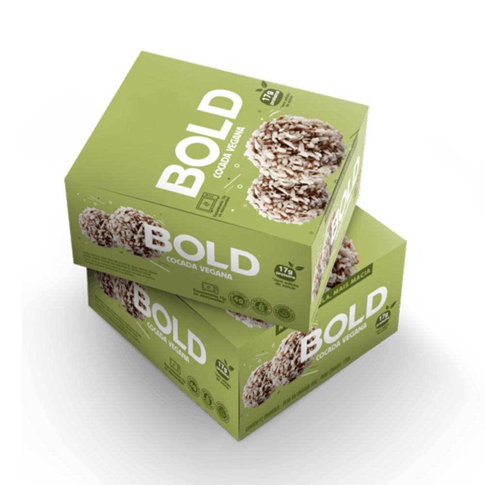 Bold Bar Cocada Vegana Nova Fórmula Cx 12 Un 720g  - KFit Nutrition