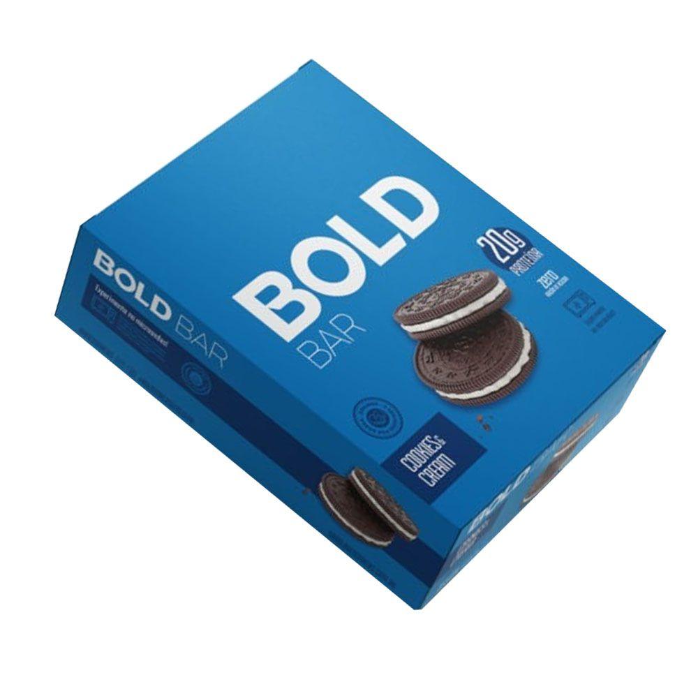 Bold Bar Cookies & Cream Cx 12 Un  - KFit Nutrition