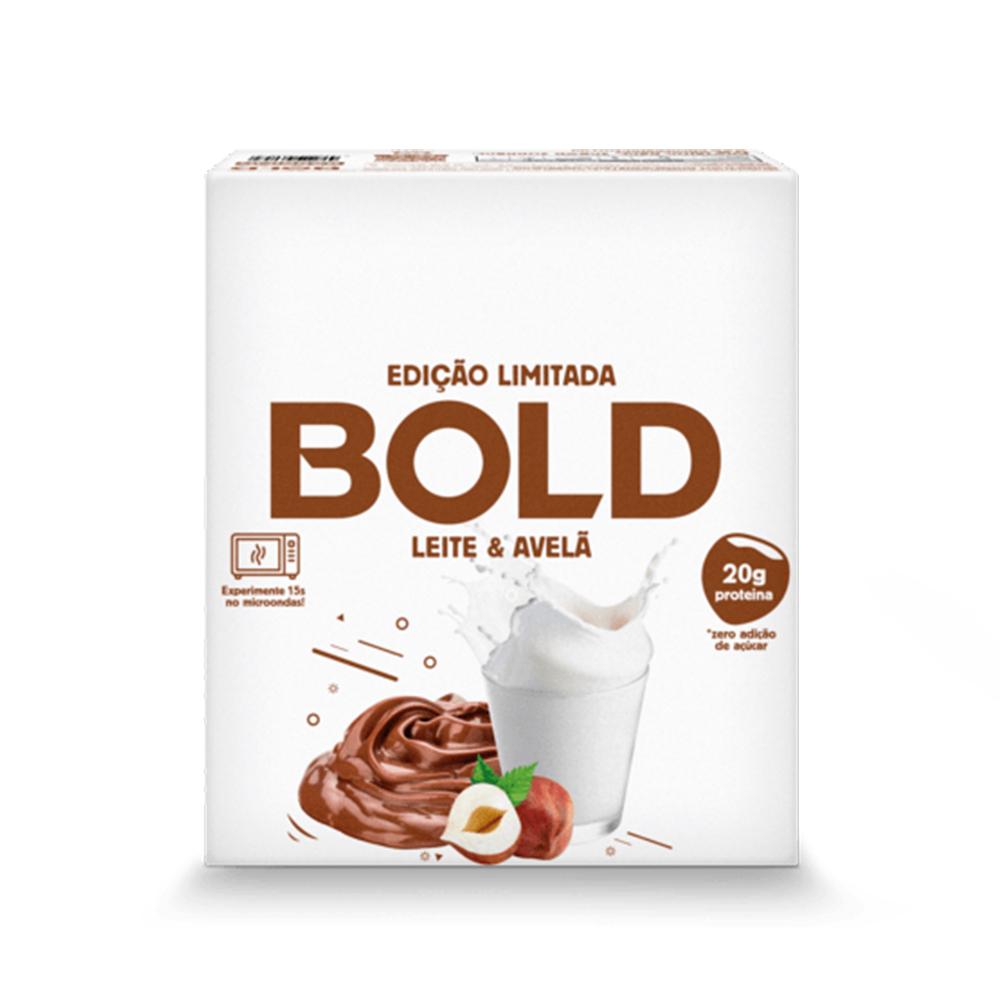 Bold Bar Leite e Avela Nova Fórmula Cx 12 Un 720g  - KFit Nutrition