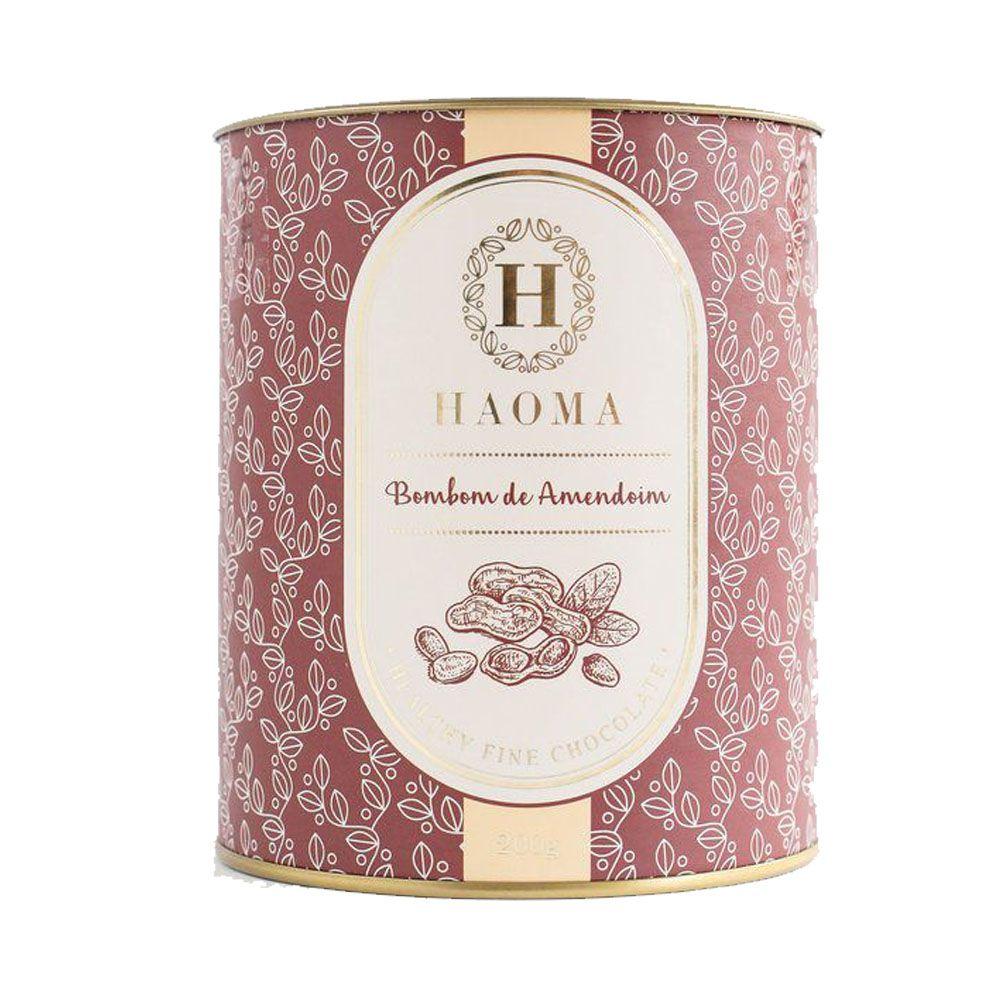 Bombom de Chocolate Belga - Amendoim 200g - Haoma  - KFit Nutrition