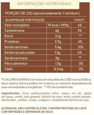 Brownie Fit Sem Açúcar Lata 250g - Food4Fit  - KFit Nutrition