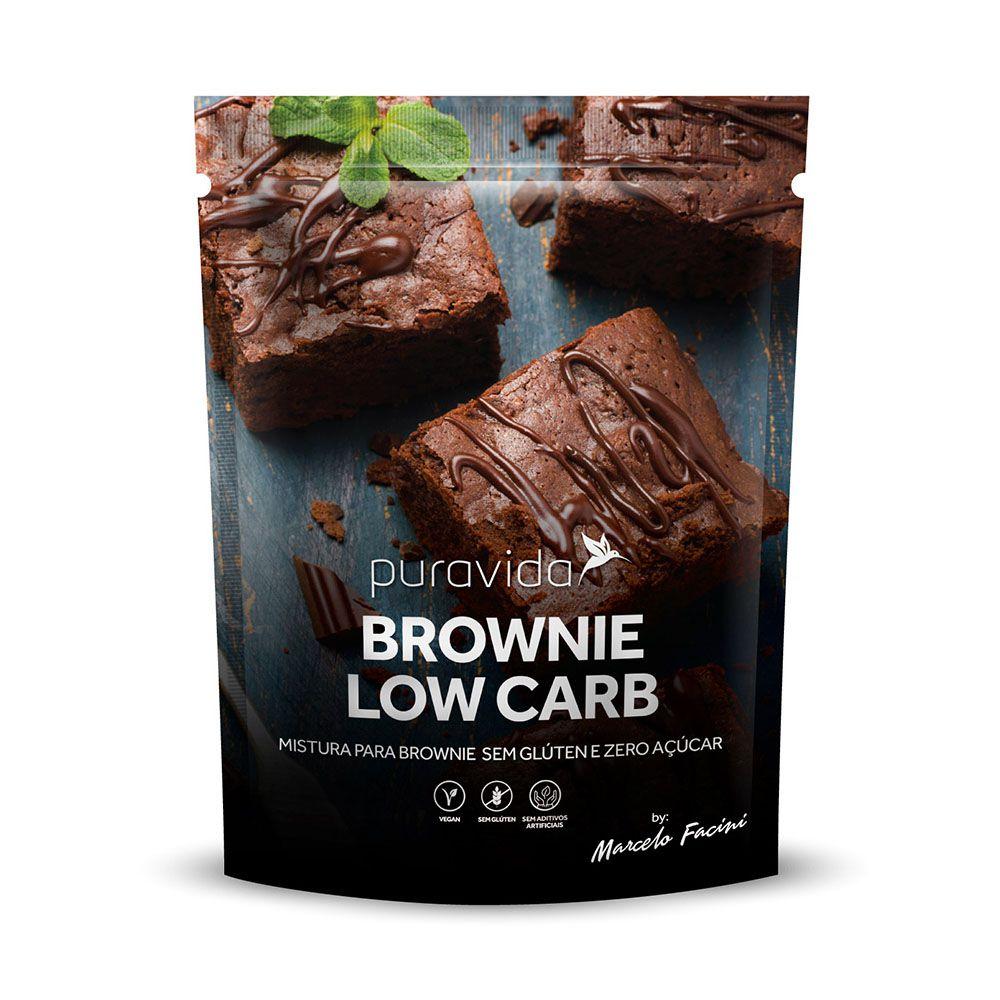 Brownie Low Carb 400g Puravida  - KFit Nutrition