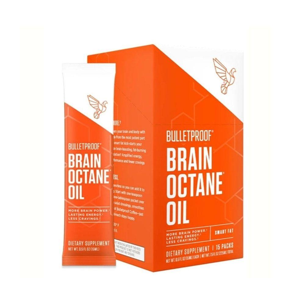 Bulletproof Brain Octane Oil 15 Packs  - KFit Nutrition