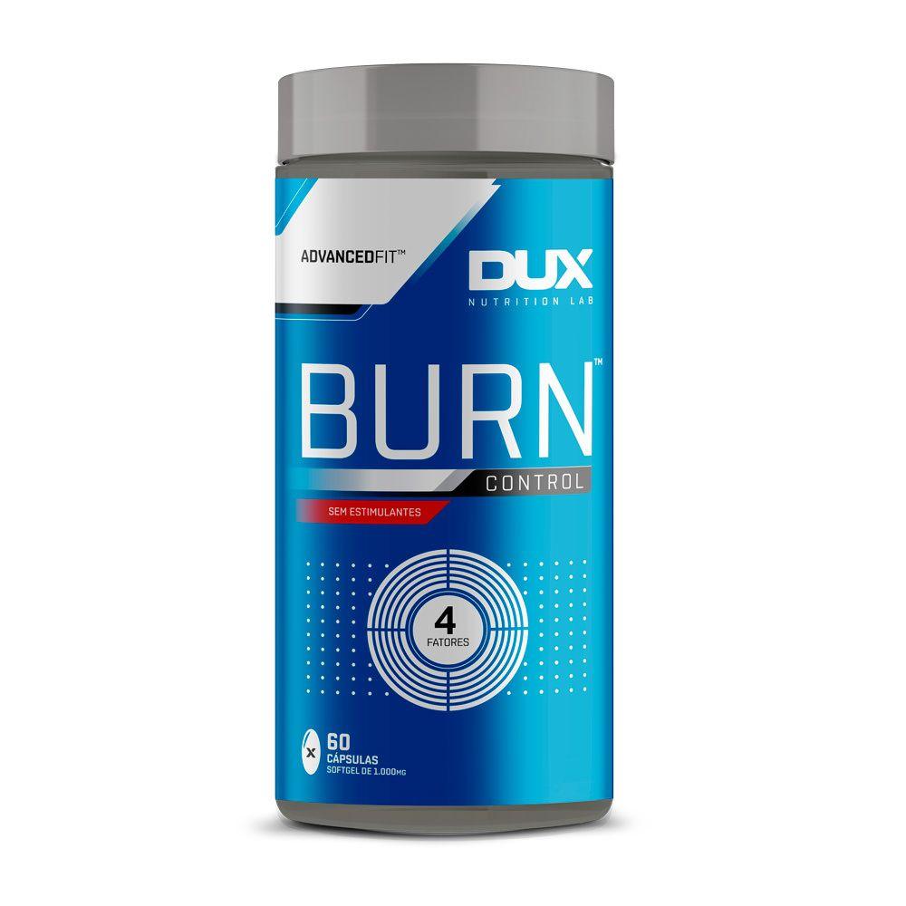 Burn Control Sem Sabor  60 cápsulas - Dux  - KFit Nutrition
