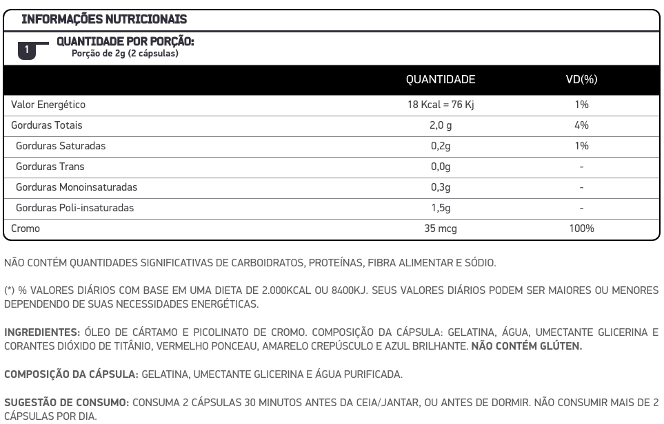 Burn Night Sem Sabor  60 cápsulas - Dux  - KFit Nutrition