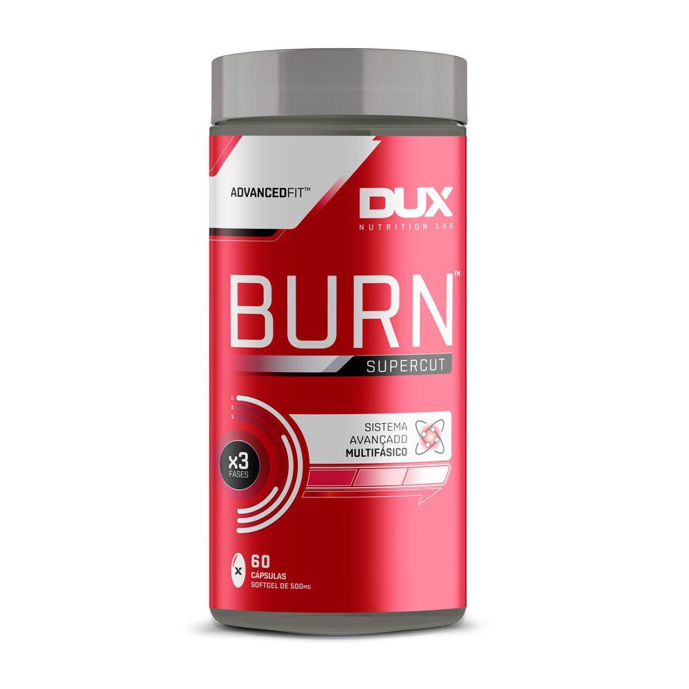 Burn Supercut Sem Sabor  60 cápsulas - Dux  - KFit Nutrition