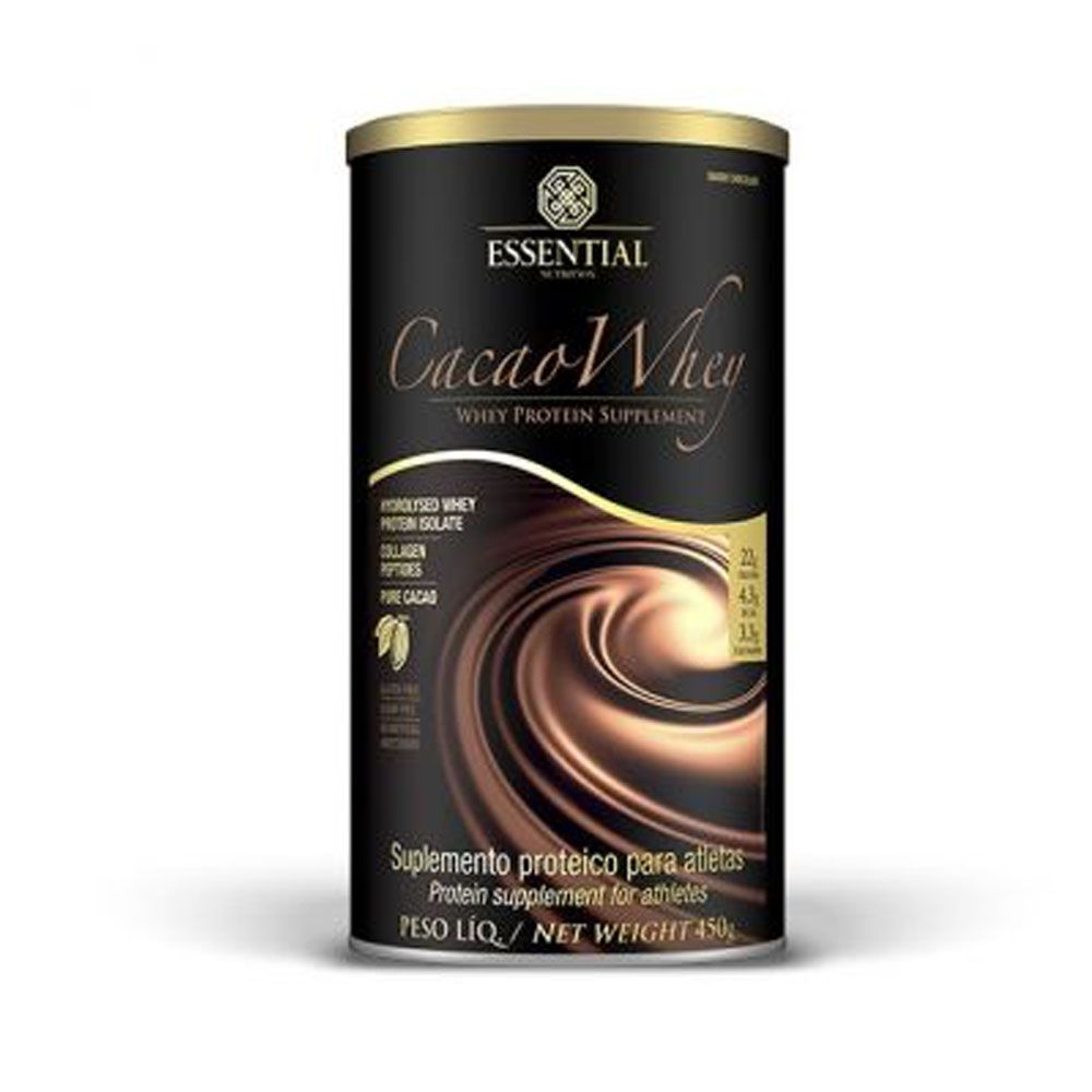 Cacao Whey 450G - Essential Nutrition  - KFit Nutrition