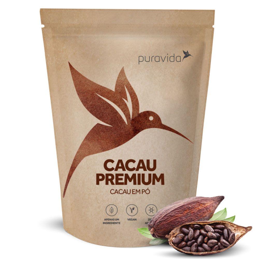 Cacau Premium 250g - Pura Vida  - KFit Nutrition