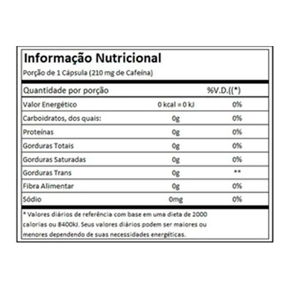 Caffeine 120 Cáps -Cafeína Ultimate Nutrition  - KFit Nutrition