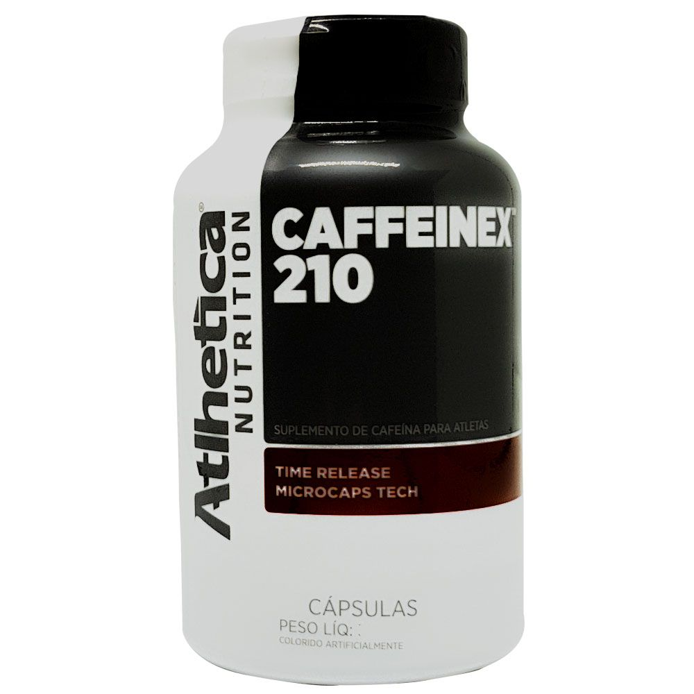 Caffeinex 210 mg - 60 Cápsulas - Cafeína Atlhetica  - KFit Nutrition
