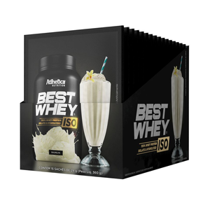 Caixa Best Whey Iso 15 Sachês de 24G  - KFit Nutrition