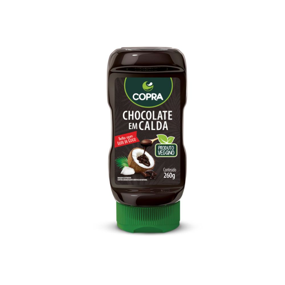 Calda de Chocolate 260g - Copra  - KFit Nutrition