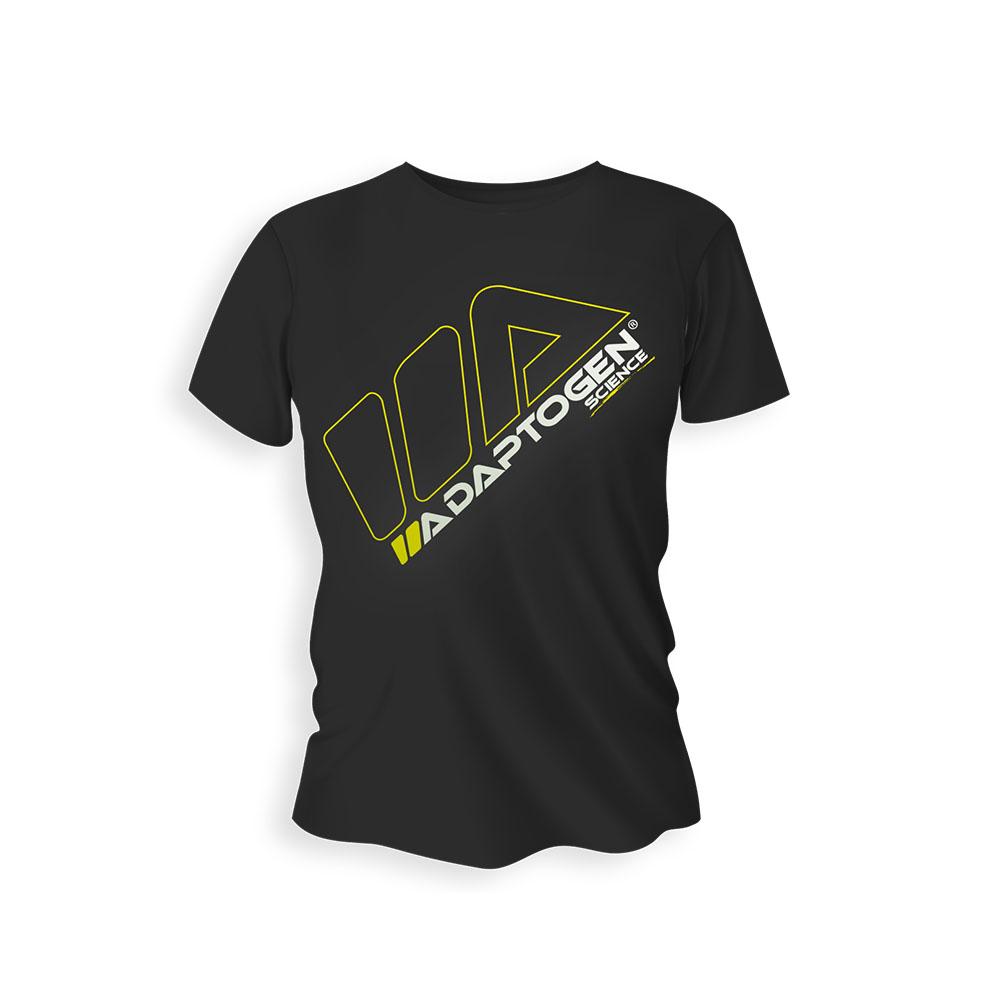 Camiseta Adaptogen Preta Gg  - KFit Nutrition
