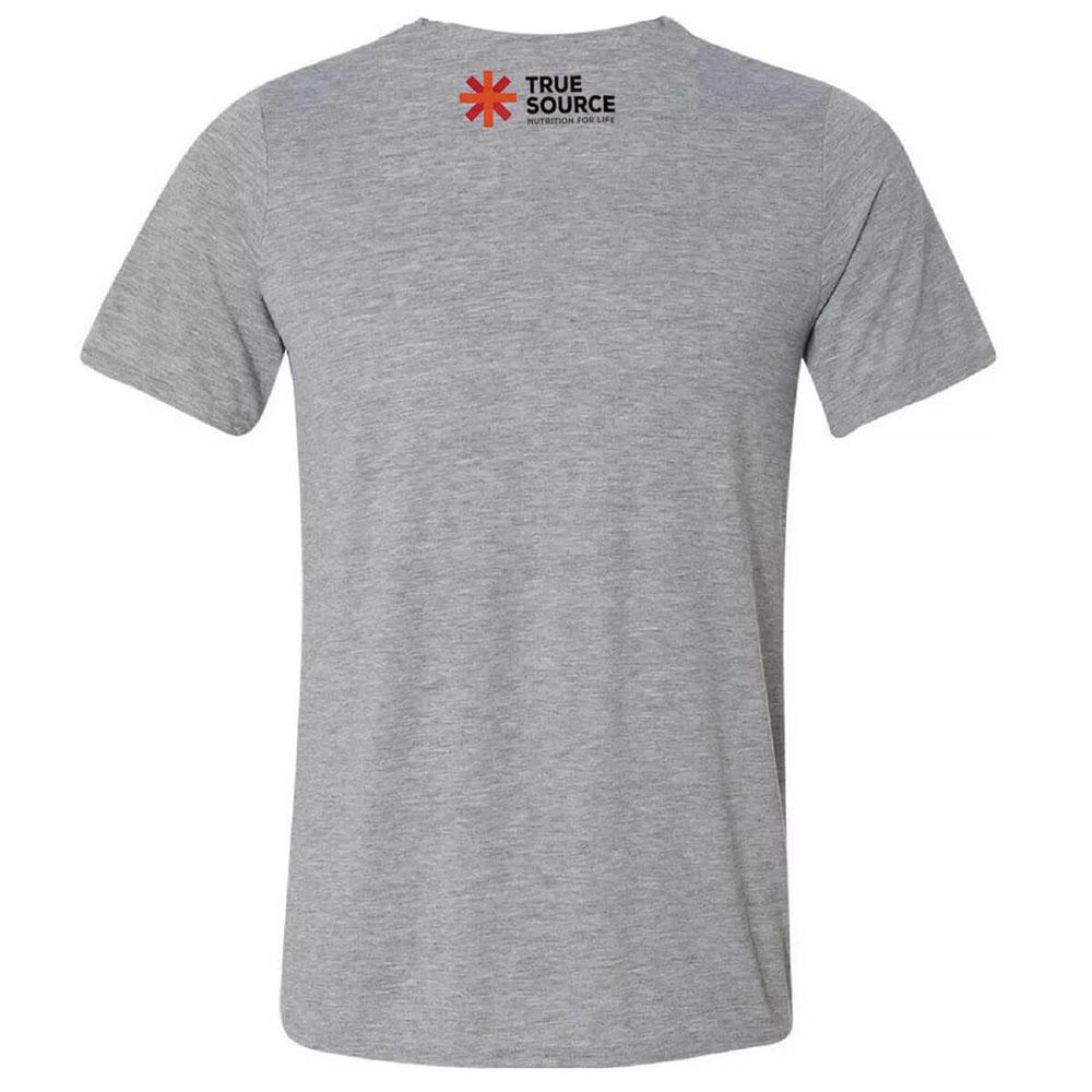 Camiseta Algodão True Source Cinza Gg  - KFit Nutrition