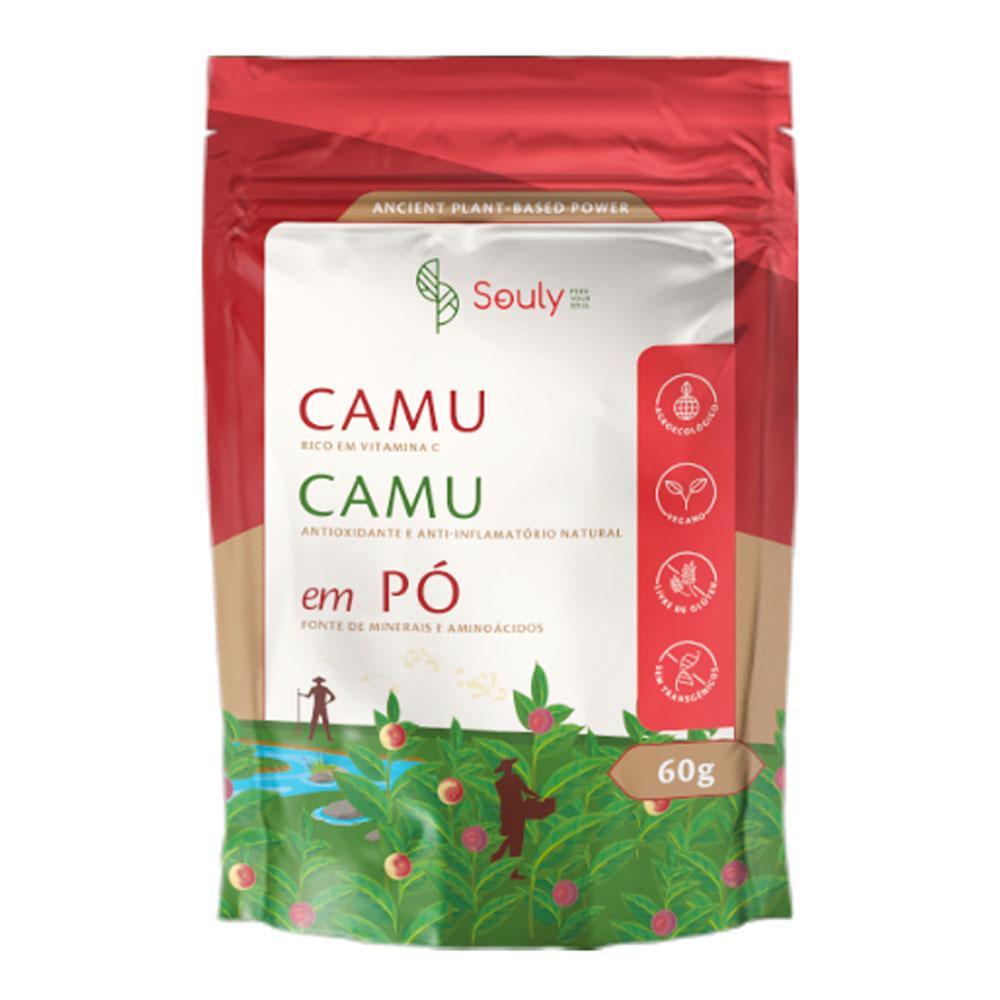 Camu Camu em Po 60g - Souly  - KFit Nutrition