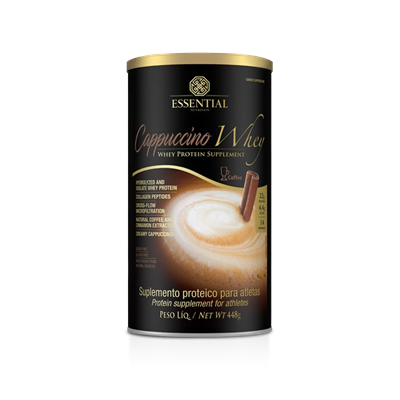 Cappuccino Whey 448G - Essential Nutrition  - KFit Nutrition