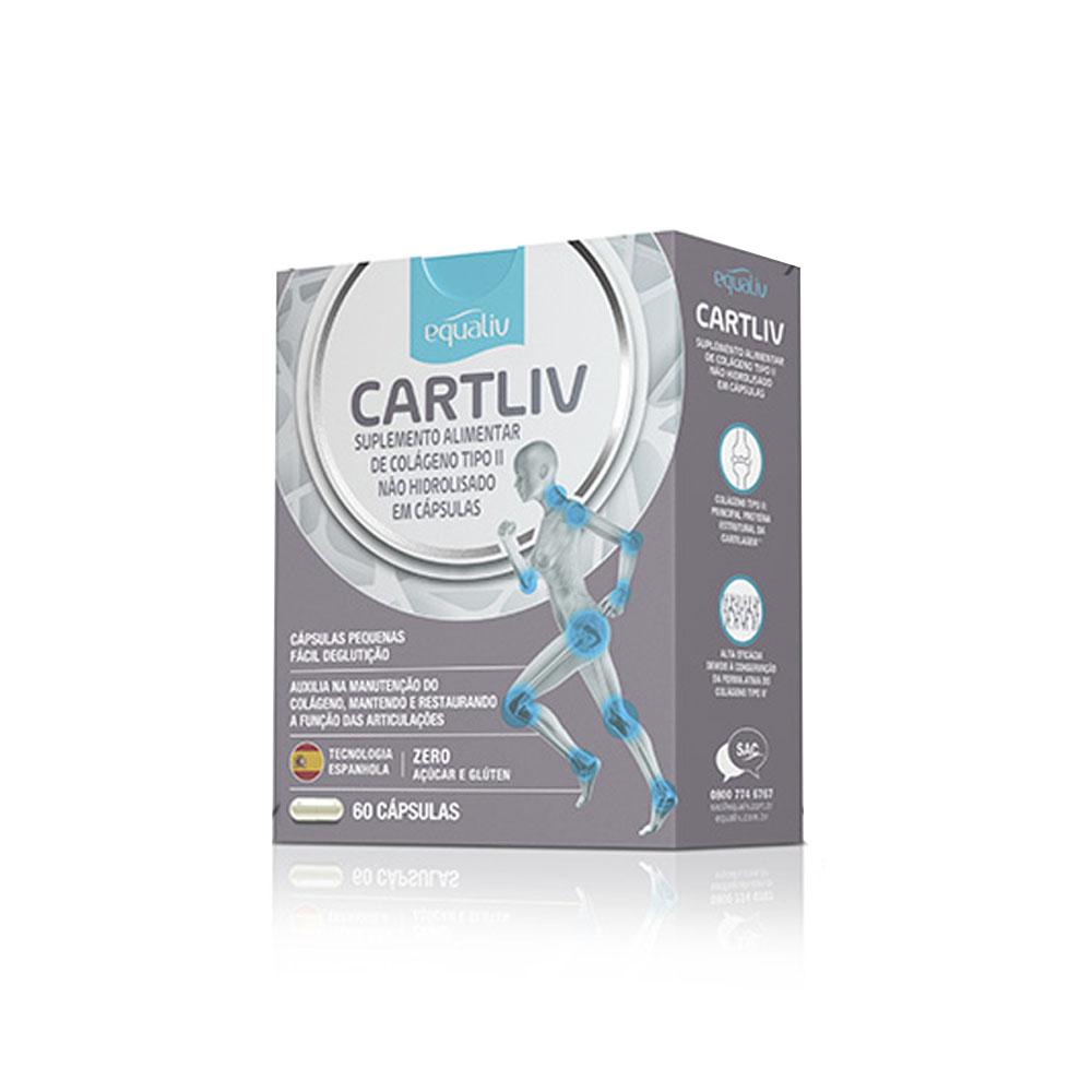 CartLiv Equaliv 60 cápsulas  - KFit Nutrition