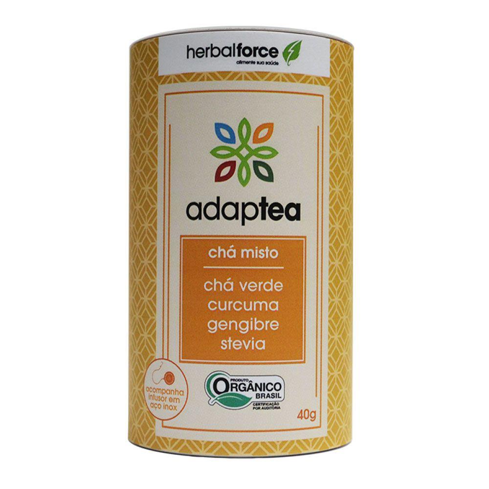 Chá Adaptea Com Infusor - Chá Verde - YellowForce  - KFit Nutrition