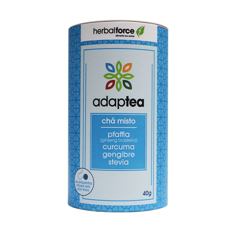 Chá Adaptea Com Infusor - Pfaffia - YellowForce  - KFit Nutrition