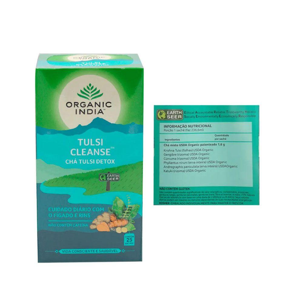 Chá Tulsi Cleanse Detox 25 Sachês + Supercoffee 220g  - KFit Nutrition