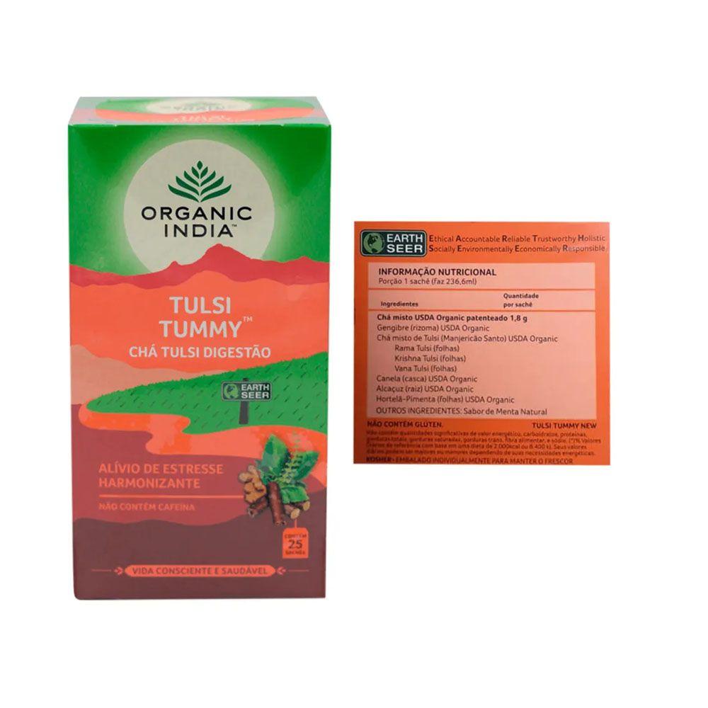Chá Tulsi Digestão 25 Sachês + Supercoffee 220g  - KFit Nutrition