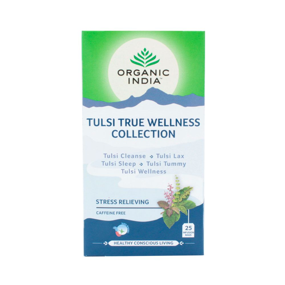 Chá Tulsi true Wellness Collection Stress relieving  - KFit Nutrition