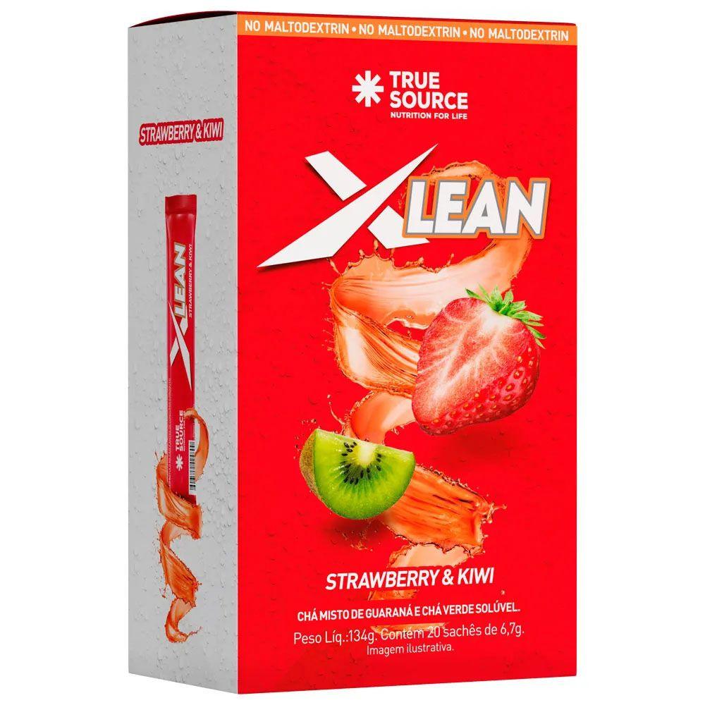 Chá Xlean Morango e Kiwi 134g  - KFit Nutrition