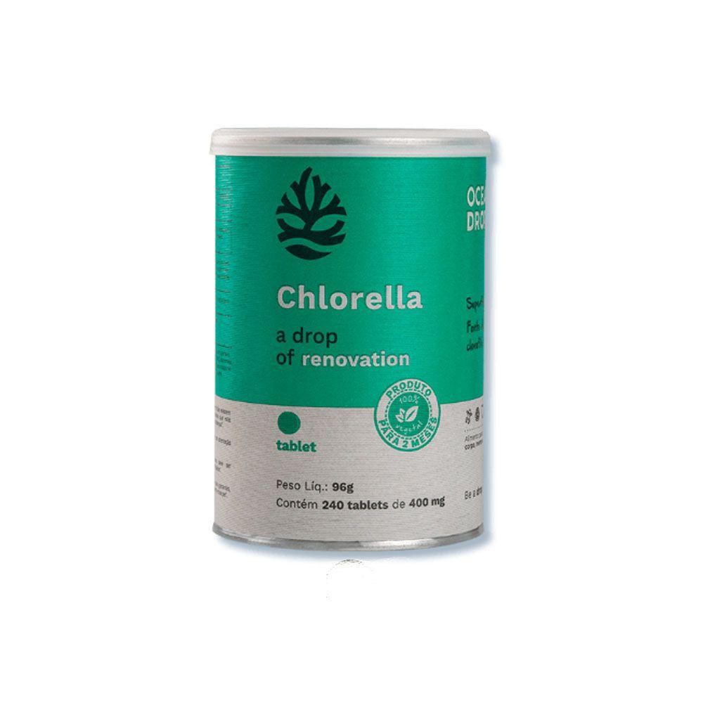 Chlorella 240 Tabletes Ocean Drop  - KFit Nutrition