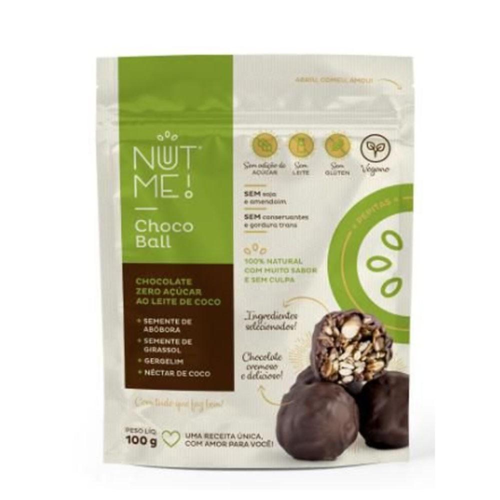 Choco Ball Pepitas 100g - NUT ME  - KFit Nutrition