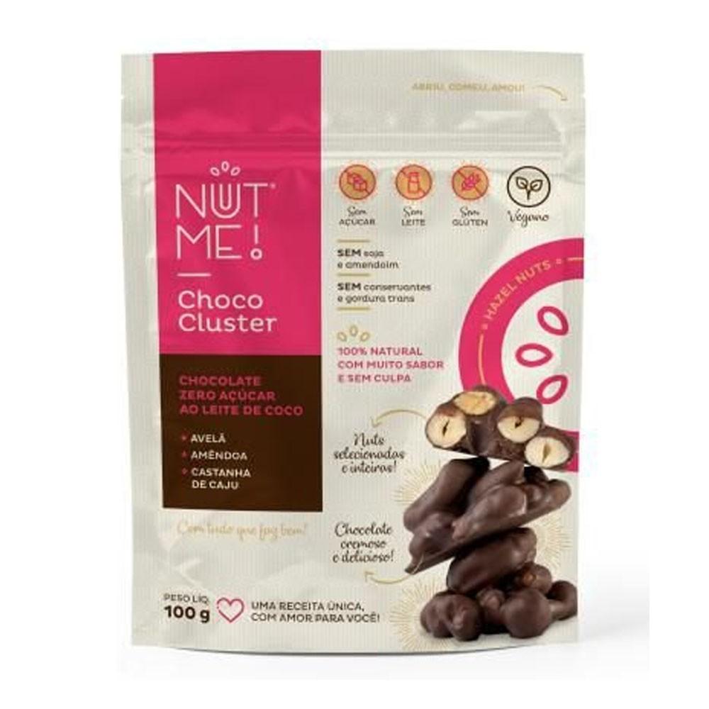 Choco Cluster Hazel Nuts 100g - NUT ME  - KFit Nutrition