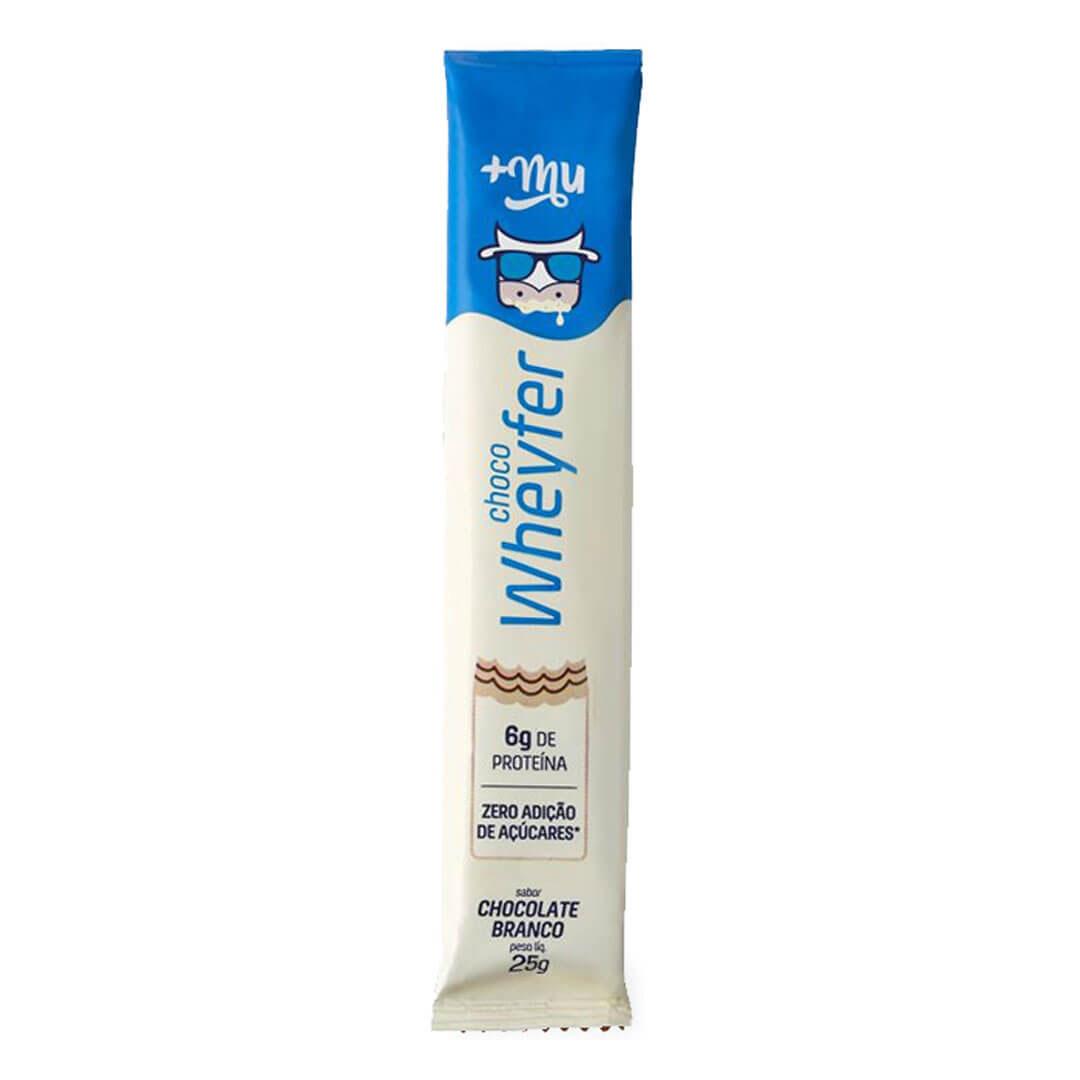 Choco Wheyfer Sabor Chocolate Branco 25g +mu  - KFit Nutrition