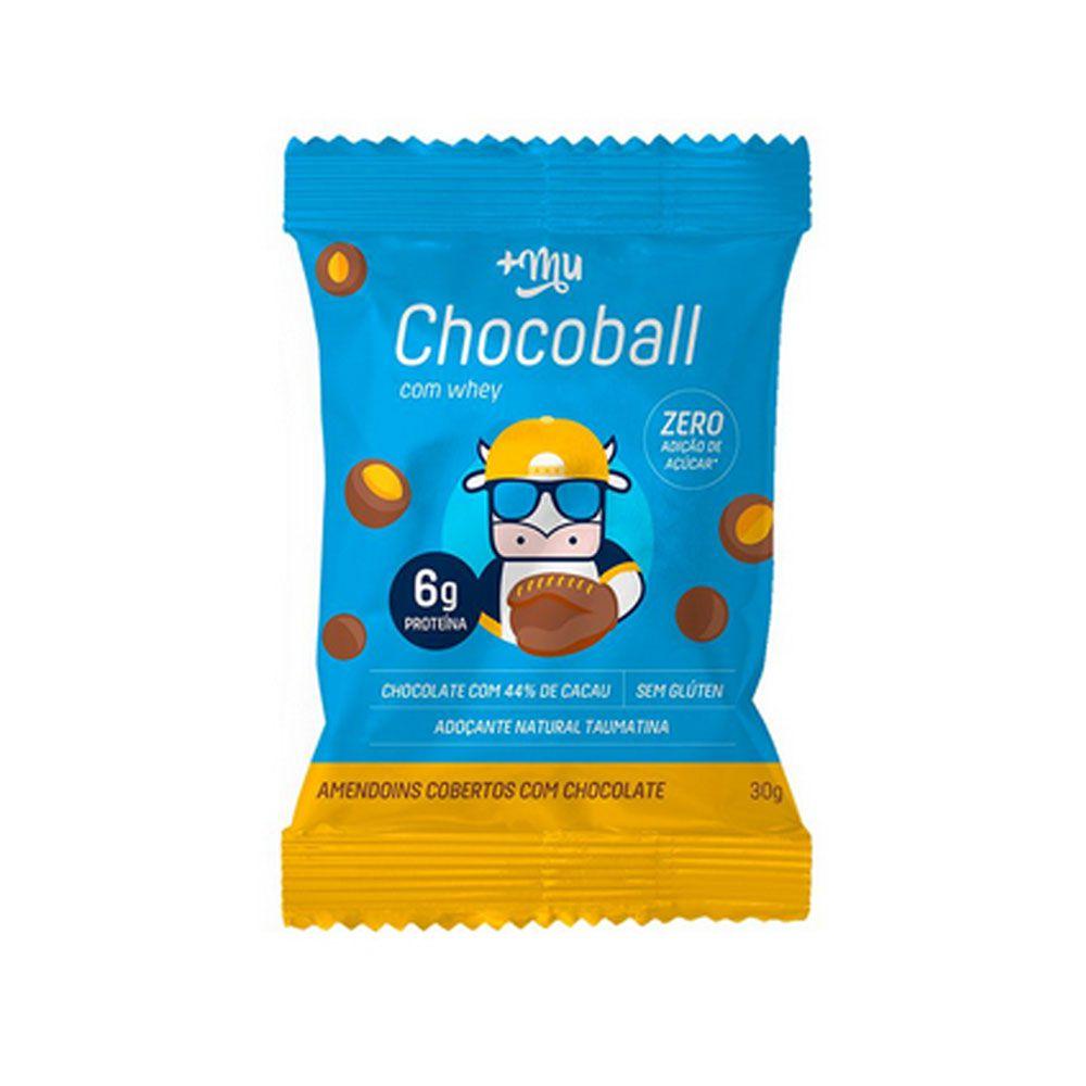 Chocoball Amendoim 30g - Mais Mu  - KFit Nutrition