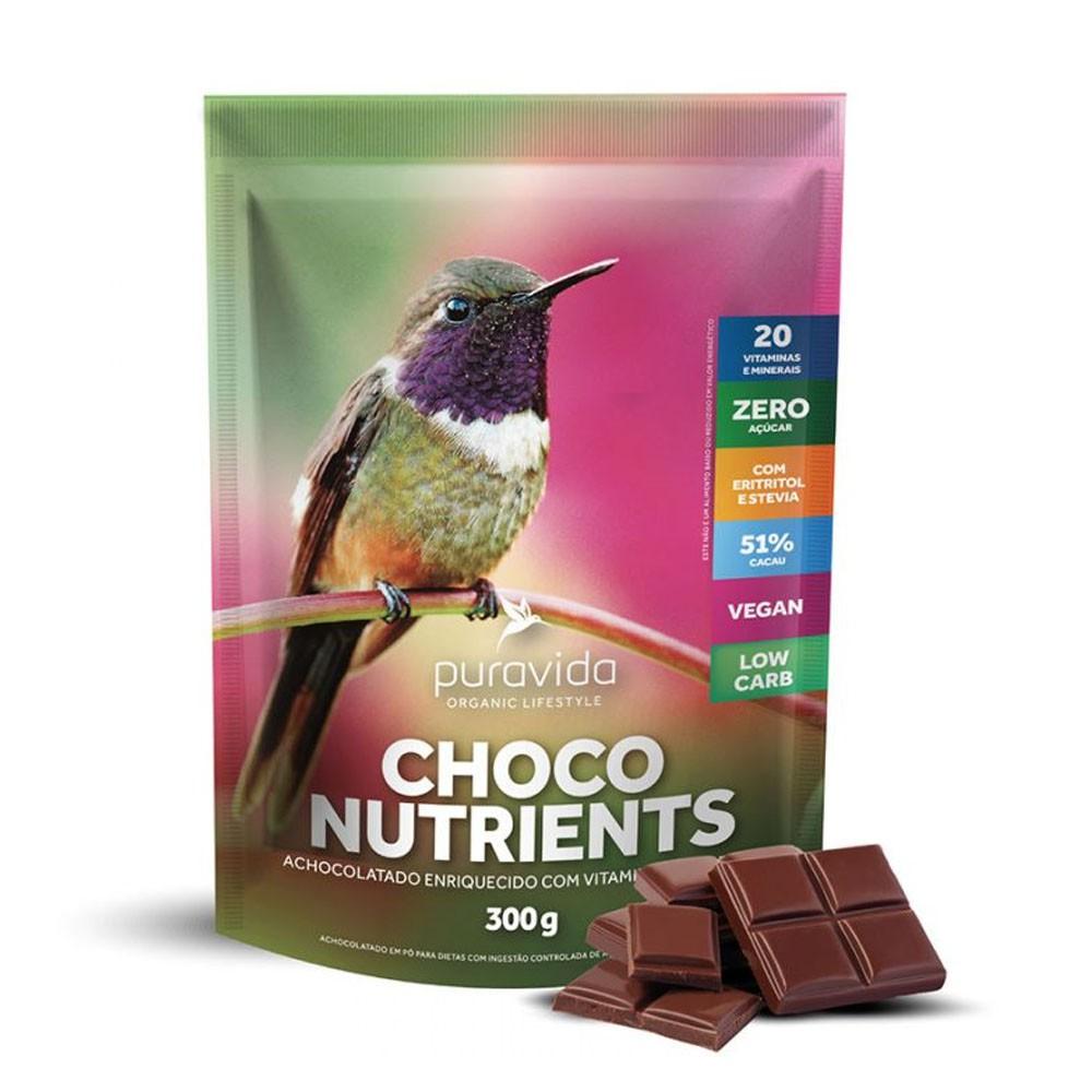 Choconutrients 300g Achocolatado - Puravida  - KFit Nutrition