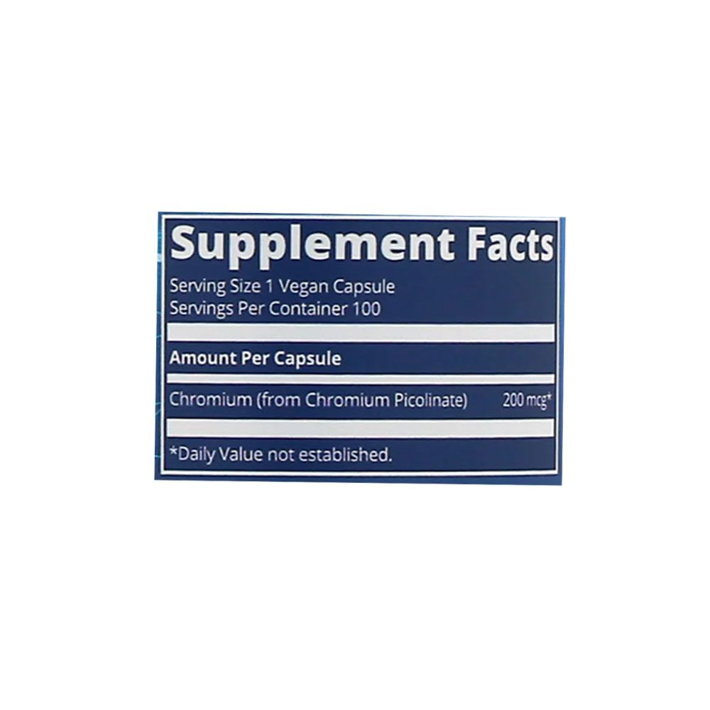 Chromium Picolinate 100 caps MRM Nutrition  - KFit Nutrition