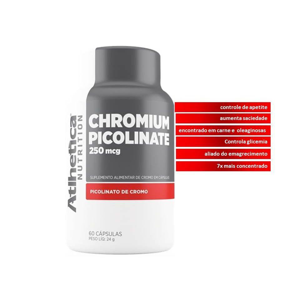 Chromium Picolinate 250mcg 60 cps Atlhetica Nutrition  - KFit Nutrition