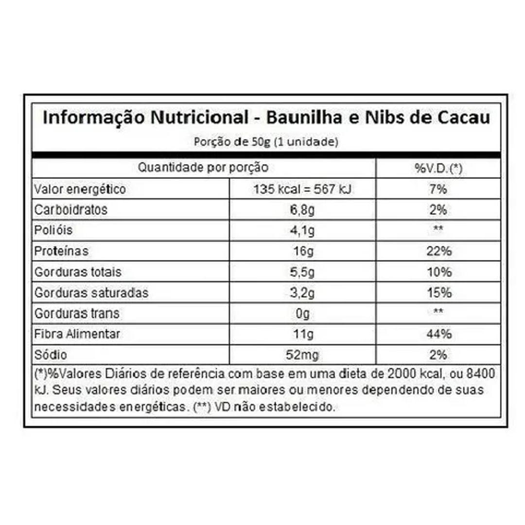 Cleanpro Bar Baunilha Cx 10un 500g - Nutrify  - KFit Nutrition