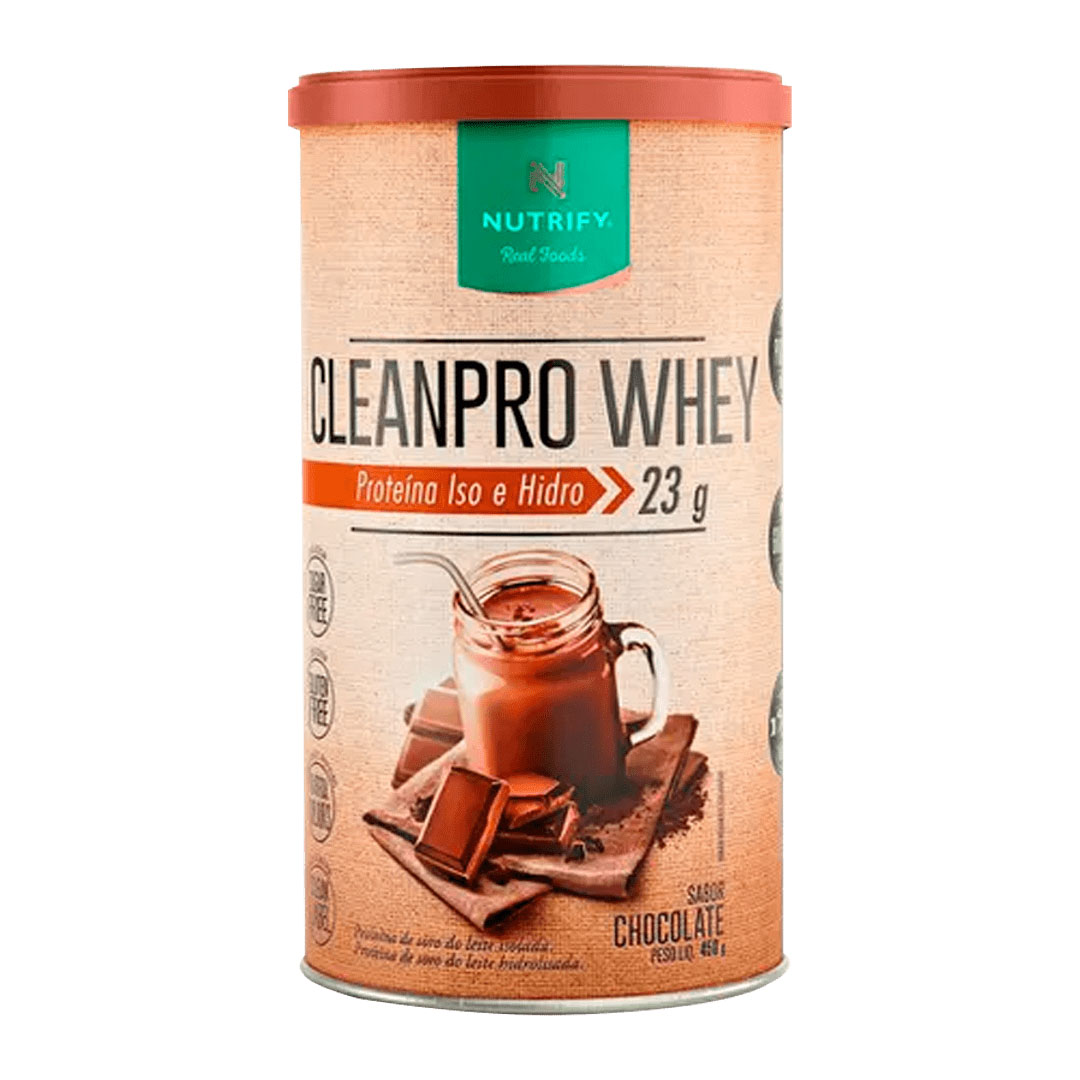 Cleanpro Whey Chocolate 450 - Nutrify  - KFit Nutrition