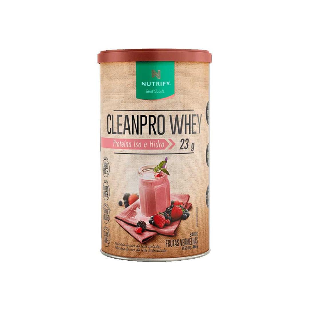 Cleanpro Whey Frutas Vermelhas 450g - Nutrify  - KFit Nutrition