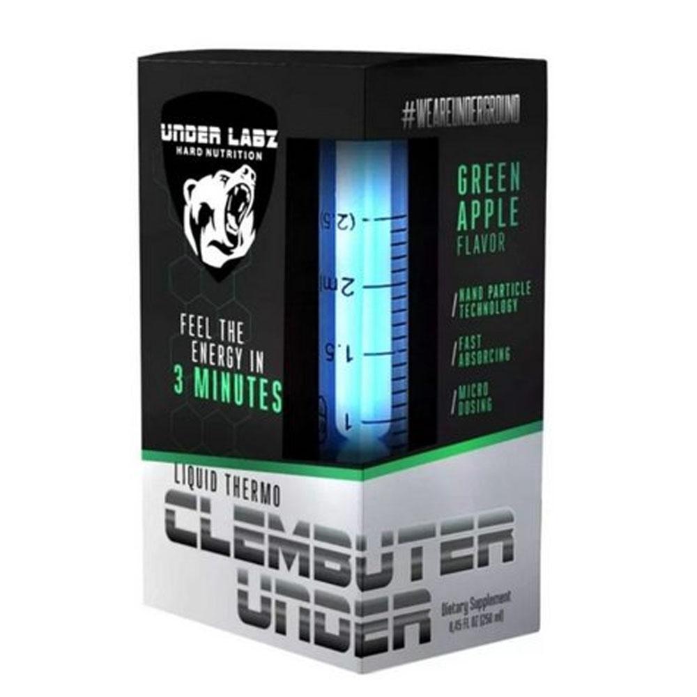 Clembuter Under Green Apple  250ml - Termogênico Under Labz  - KFit Nutrition